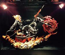New Recast 1/4 Ghost-Rider Statue Halloween Gift