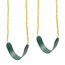Barcaloo Playground Swing with Plastic Coated Chain 2 Pack