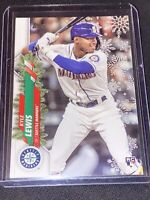 2020 Topps Holiday Kyle Lewis Rookie Metallic Snowflakes SP Seattle Mariners ROY