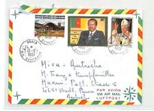 CA274 1985 Cameroon *Obala* POPE JOHN PAUL Issue Air Cover MISSIONARY VEHICLES