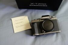Fujifilm X-T200 24.2MP Mirrorless Camera - Dark Silver (Body Only)