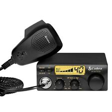 40 Channel Multiband Cobra CB Radio 19 DXIV EU with Microphone for Car Vehicle