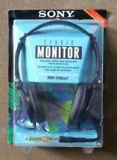 Sony Studio Monitor MDR-V100 mk2 Headphones New Worn Package Free US Ship