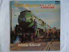 Johnny Ashcoft-Trains- Original 1976 LP on Australia only pressing in NM condit!