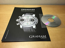 Press Release GRAHAM Swordfish + CD - English - Watches Watches - For Collectors