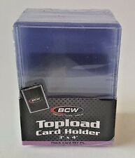 3 PACKS OF 10 (30 TOTAL) BCW 197 PT SUPER THICK TOPLOADERS