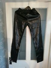 Womens pvc trousers size extra small new with tags