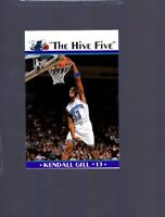 Kendall Gill HIVE FIVE Charlotte Hornets Player Collectors Card Illinois Illini