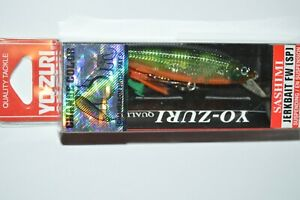"yo zuri sashimi jerkbait fw suspending 2 3/4"" 1/4oz r1019-csbg chameleon perch"