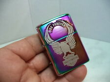 "ZIPPO LIGHTER ""HARLEY DAVIDSON EAGLE SPECTRUM""  NEW NUOVO"