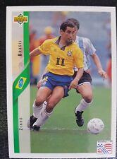 Upper Deck Zinho BRA Fußball WM 94 Nr. 57 Trading Card