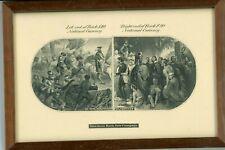 1870'S $10 & $20 NAT'L CURRENCY VIGNETTES ABNC LABAN HEATH COUNTERFEIT DETECTOR