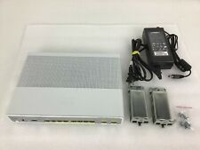 Cisco WS-C3560CPD-8PT-S 3560C PD PSE Switch with PA-1800-2-LF Power Adapter