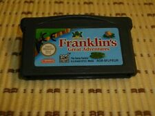 Franklin 'S GREAT ADVENTURES per GameBoy Advance SP DS