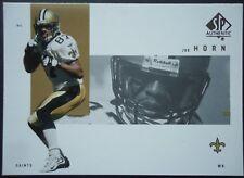 NFL 57 Joe Horn New Orleans Saints Upper Deck 2001 SP Authentic
