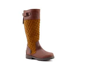 Chatham Women's Ascot Ankle Riding Boots Brown/Tan Sz-7 EU 41 RRP-£140.00