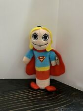 DC Comics Supergirl Dog Toy Bottle Buddy Plastic Bottle Toy Stuffed