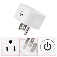 Mini WiFi Smart Socket ON/OFF Switch Remote Control Status Track For Smart Phone