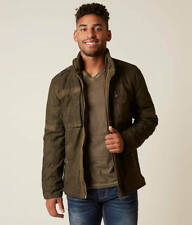 NWT AFFLICTION BLACK PREMIUM DK MILITARY GREEN SHATTER PROOF JACKET SIZE S  $178