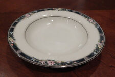 OSCAR DE LA RENTA TWILIGHT BOUQUET RIM SOUP BOWL (S) L5559