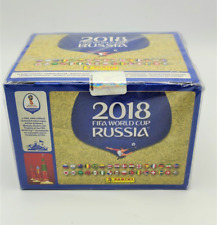 BOX 100 BUSTINE WC WM RUSSIA 2018 PANINI FIGURINE TUTEN SEALED PACKETS