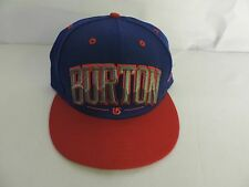 NEW ERA 9FIFTY / BURTON SNOWBOARDS - BURT BAM BLOCK LETTER fitted 7 3/8 CAP/HAT