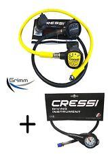 Cressi Atemreglerset XS Compact AC2 DIN + Mini-Manometer ! TOP PREIS ! NEU !