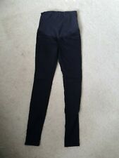 H and M black  Maternity Jean size 8