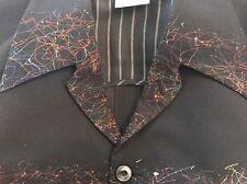 MATSUDA Vintage  Jacket Black, Medium (Pollock inspired)
