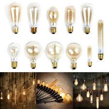 Antique Edison-Industrial Vintage Retro Filaments Style Lamp 40W&E27 Light Bulbs