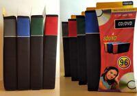 96 Disc DVD VCD CD Case Album Carry Storage Wallet Holder Game Box Organizer