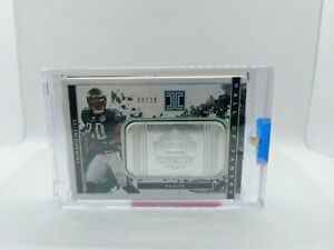 Brian Dawkins Philadelphia Eagles 2020 Impeccable  1 Troy Ounce Silver /20