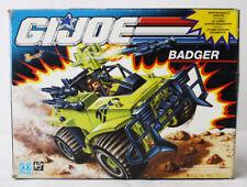 RARE VINTAGE 1991 G I JOE BADGER VEHICLE EUROPEAN NEW MIB !