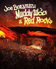 JOE BONAMASSA New Sealed 2018 LIVE AT RED ROCKS WATERS & WOLF TRIBUTE BLU RAY