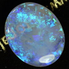 9.19 carats Solid Lightning Ridge semi-black crystal Opal (13983)