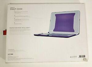 "Tech21 Impact Snap Case Apple Macbook Pro 13"" Retina Purple Absorbs Impact New"