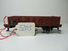 188HO - Fleischmann H0 5203 (?) - Schienenreinigungswagen braun der DB - TOP !