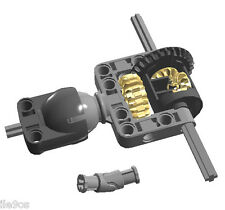 Lego Steering ball with C-shape pivot + Differential + U-joint  (technic,truck)