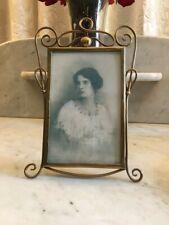 Antique Original Art Nouveau Whiplash Picture Photo Frame!