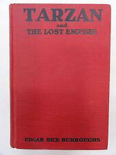 TARZAN AND THE LOST EMPIRE BY EDGAR RICE BURROUGHS 1929 METROPOLITAN ED. H/B G/C