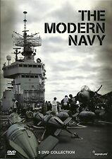 THE MODERN NAVY - 3 DVD BOX SET - SHOW OF STRENGTH, ON TRIAL & DAMAGE CONTROL