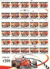 6 FOGLIETTI GIBILTERRA 2004 FERRARI F2004-F2003GA-F2002-F2001-F1 2000-F399