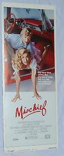 MISCHIEF Kelly Preston 14x36 Original Insert 1985 Movie Poster NSS Doug McKeon