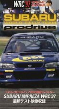 [VHS] Subaru world rally team prodrive impreza WRC 97 Piero Liatti Japan 555 sti
