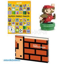 Nintendo wii u super Mario Maker incl. amiibo et Artbook-OEM-NEUF