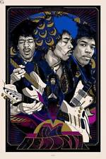 Screen Print - Jimi Hendrix 2014 Tyler Stout - Variant - Signed Numbered