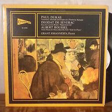Grant Johannesen Paul Dukas Deodat De Severac Albert Roussel LP Candide EX