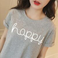 Women's T-shirt Short sleeve Top Printed Tops Loose Tees