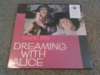 MARK FRY - DREAMING WITH ALICE LP MINT / SEALED!!!! RARE UK 180G AUDIOPHILE