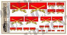 Diorama/Model Accessory- U.S. Cavalry Flag (Unofficial) - 1/72, 1/48, 1/32, 1/35